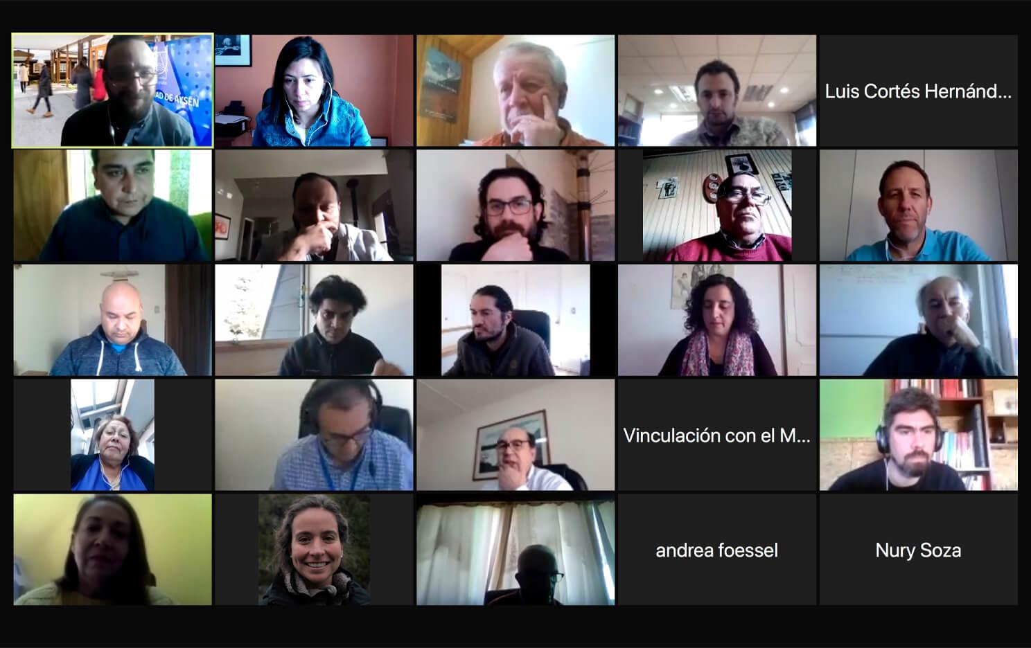UAysén realiza sexta sesión de Consejo Social