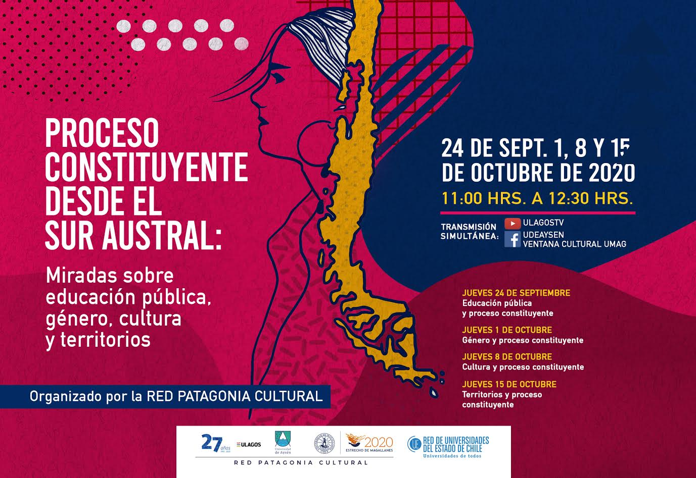 Red Patagonia Cultural invita a dialogar de cara al plebiscito